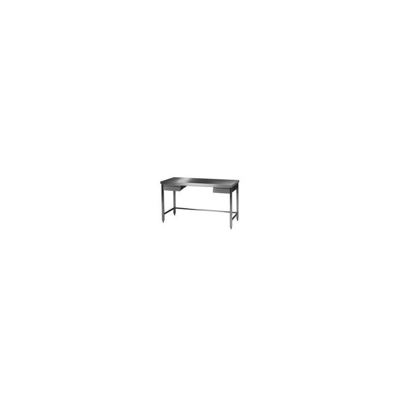 Labor Arbeitstisch 1 18/10 Stahl LxBxH 2000x750x750 mm