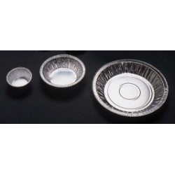 Weighing dish aluminium conical 125 ml H 24 mm Ø 96 mm pack 100
