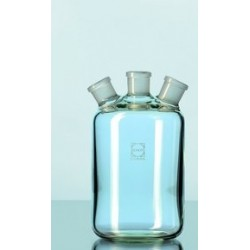 Woulff´sche bottle 500 ml Duran 3 standard ground necks NS 19/26