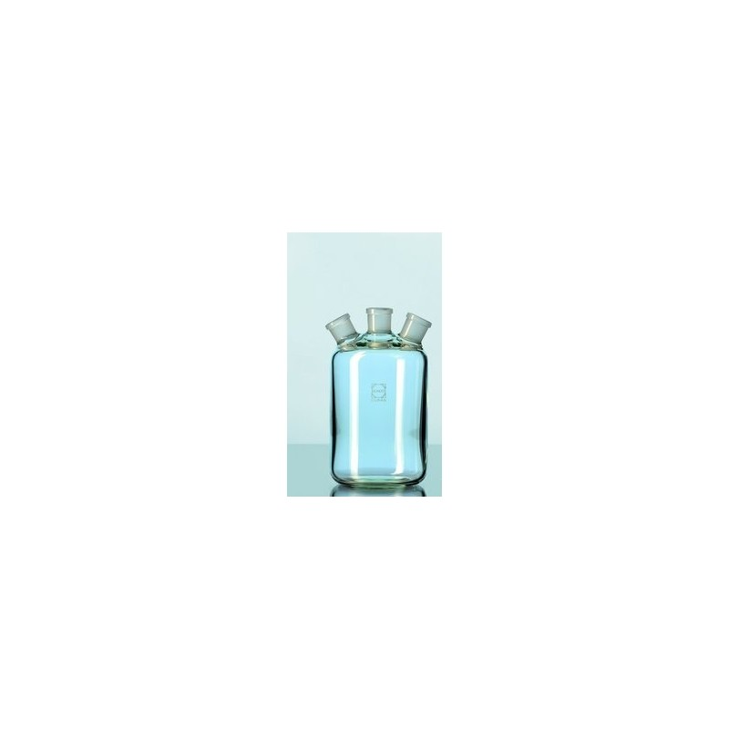 Butla typu Woulff 500 ml Duran z 3 - szyjna NS 19/26