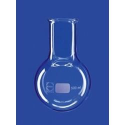 Round bottom flask 2000 ml Duran wide neck Ø76 mm beaded rim