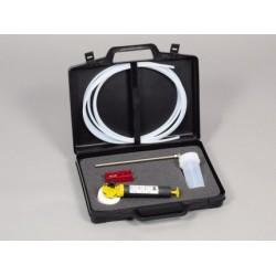 MiniSampler PTFE próbnik do prób ciekłychW walizce