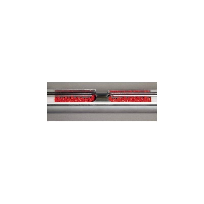 All-layer-scratcher V4A/PTFE separators length 1000 mm