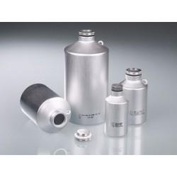 Transportflasche Aluminium 125 ml UN-Zulassung Schraubverschluss