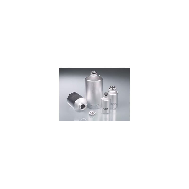 Aluminium bottle 125 ml UN- approved with screw cap
