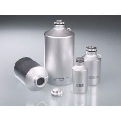 Transportflasche Aluminium 500 ml UN-Zulassung Schraubverschluss