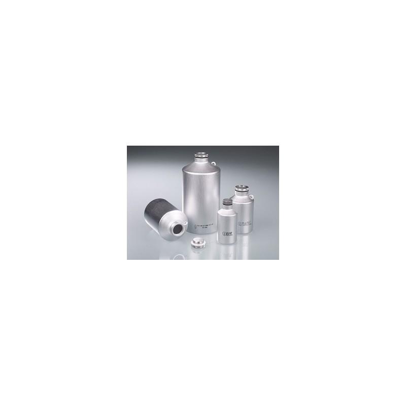 Aluminium bottle 500 ml UN- approved with screw cap