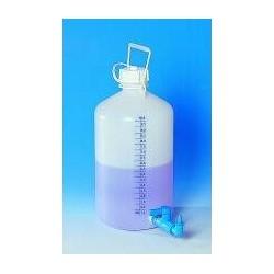 Butelka zapasowa z zaworem gwintowanym PE-HD 25 l