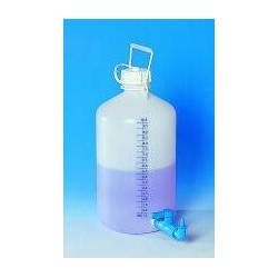 Storage bottle with threaded connector PE-HD 25 l