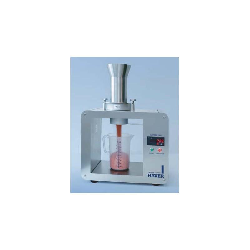 Pourability Tester elektronic time measurment